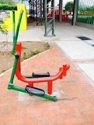 Cuestionan calidad de Gimnasios al aire libre instalados por la Alcaldía de Aguazul