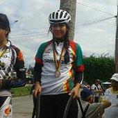 Laura Sof�a Castillo prospecto del ciclismo regional