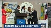 Corresponsal en Casanare del Canal Caracol ganó importante premio por cubrimiento de emergencia en Paz de Ariporo