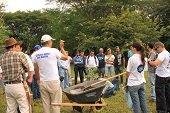 """500 �rboles fueron sembrados en el Parque """"La Iguana"""" de Yopal gracias a convenio entre Equion, Idury y ABC"""