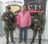 En Nunch�a Gaula Militar y CTI capturaron sujeto acusado de extorsi�n
