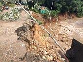 Ca�o desbordado caus� emergencia en Villanueva