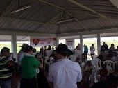 Geopark entreg� sal�n comunal en la Vereda San Esteban en Paz de Ariporo