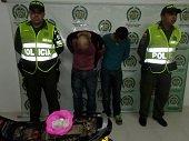 Polic�a captur� a expendedores de alucinogenos que portaban 314 dosis de base de coca�na