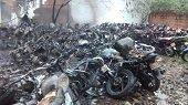 Propietarios de motos incineradas en Parqueadero adscrito a la Secretar�a de Tr�nsito de Yopal entablar�n acciones jur�dicas