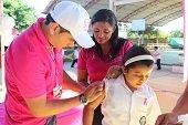 En Yopal de 14 mil ni�as vacunadas contra el Virus del Papiloma Humano s�lo se reportaron 3 novedades