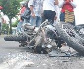 Polic�as en moto se vieron involucrados en accidente en Tauramena