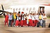 Arrib� a Yopal Guain�a primera delegaci�n de juegos Sup�rate Intercolegiados Regional Orinoqu�a-Amazon�a