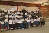 Nueva promoción de estudiantes capacitados por la Policía contra las drogas en Yopal