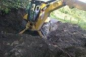 Oficina de Gesti�n del Riesgo repara da�os causados por inundaci�n en Villanueva