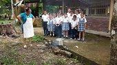 Restaurante escolar del Tesoro del Bubuy retrocedi� al fog�n de le�a ante decisi�n de Perenco de cortarle el gas