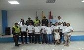 Promotores de convivencia y seguridad gradu� la Polic�a en el Barrio San Sebasti�n de Yopal