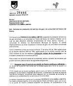 Procuradur�a y Alcald�a de Aguazul tras presunto abuso de Perenco por cortar gas natural a comunidad rural