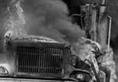Dos tractomulas se quemaron en parqueadero de Yopal