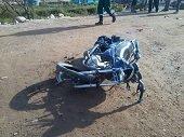 Accidente de tr�nsito en la vereda Pi�alito de Tauramena