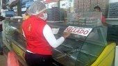 En Yopal fueron decomisados en un supermercado 243 kilos de pollo en canal por encontrarse en mal estado