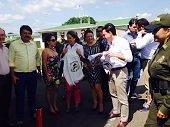 Mineducación Gina Parody visitó Proyecto Utopía en Yopal. Evaluó Pruebas Saber en Casanare