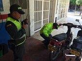 Polic�a realiz� planes de control para prevenir el hurto de motocicletas en Villanueva