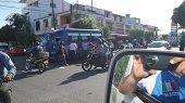 Cuatro personas resultaron lesionadas en accidentes de tr�nsito en Yopal durante el fin de semana