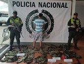 Polic�a captur� individuo que portaba uniformes de uso privativo de la fuerza p�blica