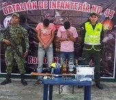En Man� autoridades capturaron ladrones de ganado