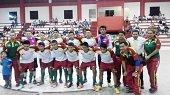 7 equipos participan en zonal nacional de f�tbol de sal�n en el Coliseo 20 de Julio de Yopal