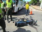 Reducci�n en la accidentalidad vial durante el fin de semana reportaron las autoridades