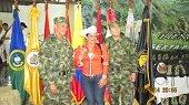 Comandante del Ej�rcito estuvo en Yopal saludando a las tropas de la Octava Divisi�n