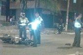 Accidente m�ltiple en la calle 40 de Yopal