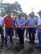12 kil�metros de pavimentaci�n en v�as urbanas de Villanueva entreg� gobierno departamental