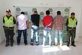"""Recapturados 4 integrantes de Banda delincuencial """"Los Bavarios"""""""