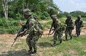 Ejército halló en Tame y Arauquita dos campamentos y caletas de explosivos