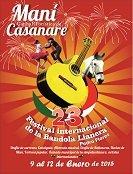 Del 9 al 12 de enero festival de la bandola  criolla en Man�