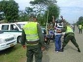 Polic�a captur� un extorsionista en Aguazul
