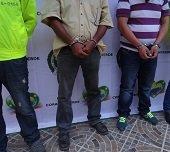 La polic�a captur� 17 personas durante el fin de semana en Casanare