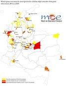 Man� entre los 127 municipios sospechosos del pa�s por comportamiento at�pico de inscripci�n de c�dulas