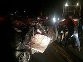 Dos personas murieron y dos m�s resultaron heridas en accidente de tr�nsito en la v�a Aguazul - Yopal