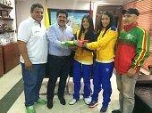 Taekwondistas casanare�as Yudy P�rez y Jeimy C�rdenas pelean cupo a Juegos Panamericanos