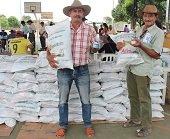 En Paz de Ariporo entregaron paquetes nutricionales a adultos mayores