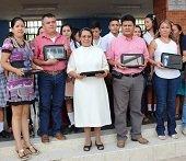 Unisangil acompa�a programa Tabletas para Educar en San Lu�s de Palenque