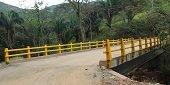 Nunch�a estrena puente sobre el ca�o La Cajonera