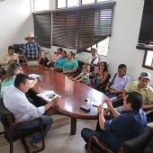 Dirigentes comunales del Corregimiento El Morro y Quebradaseca se reunieron con Alcalde (e) de Yopal
