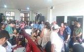Exceso de personas contratadas denunci� Alcalde Lu�s Eduardo Castro