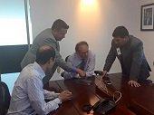 Director de la Aerocivil se mostr� receptivo a peticiones de casanare�os sobre el aeropuerto El Alcarav�n