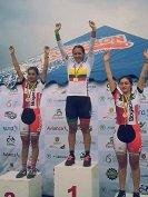 Laura Sof�a Castillo se visti� de oro en los campeonatos Nacionales de pista y ruta en Pereira