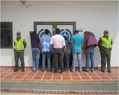 Un total de 19 personas fueron privadas de su libertad  el fin de semana en Casanare