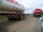 Restricción para vehículos de carga en Semana Santa