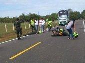 Un patrullero muri� en el Meta cuando repel�a ladrones de motos