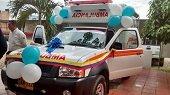 Moderna ambulancia entreg� Pacific al municipio de Trinidad