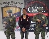 En Tolima  fue capturado individuo relacionado con extorsiones a ganaderos y comerciantes de Nunch�a